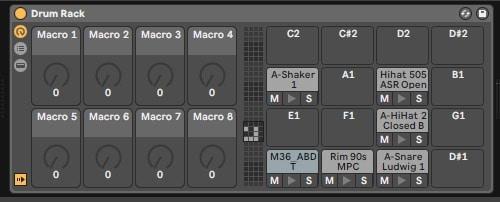 Drum Rack Macro