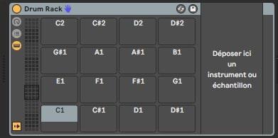 Drum Rack by default