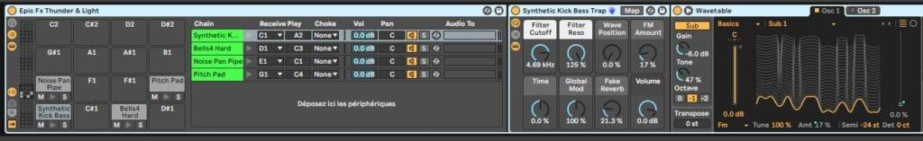 Drum Rack Synths