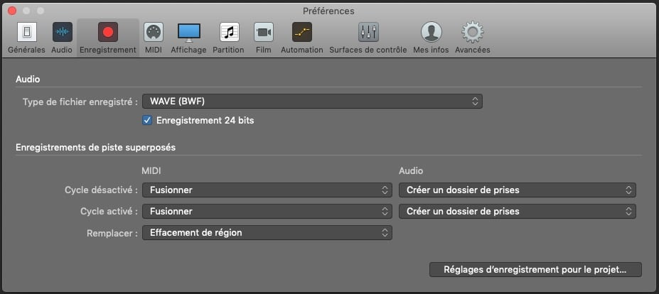 Now you know how to choose the resolution in Logic Pro X!