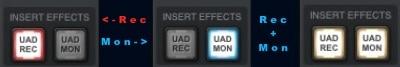 UAD Rec/Mon
