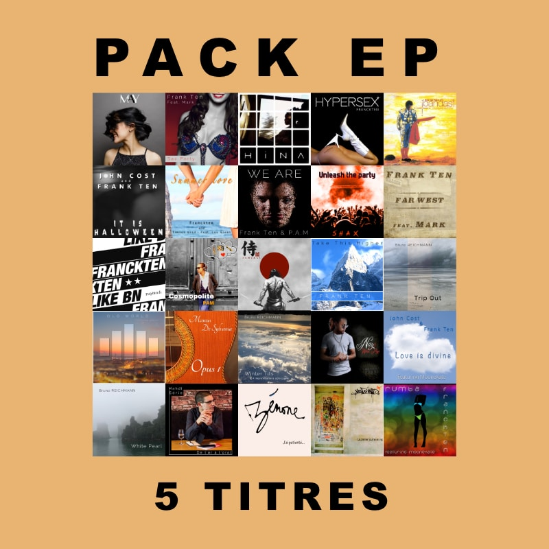 Pack EP 5 Titres