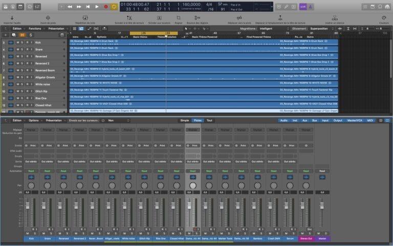 Préparer un titre pour le mixage