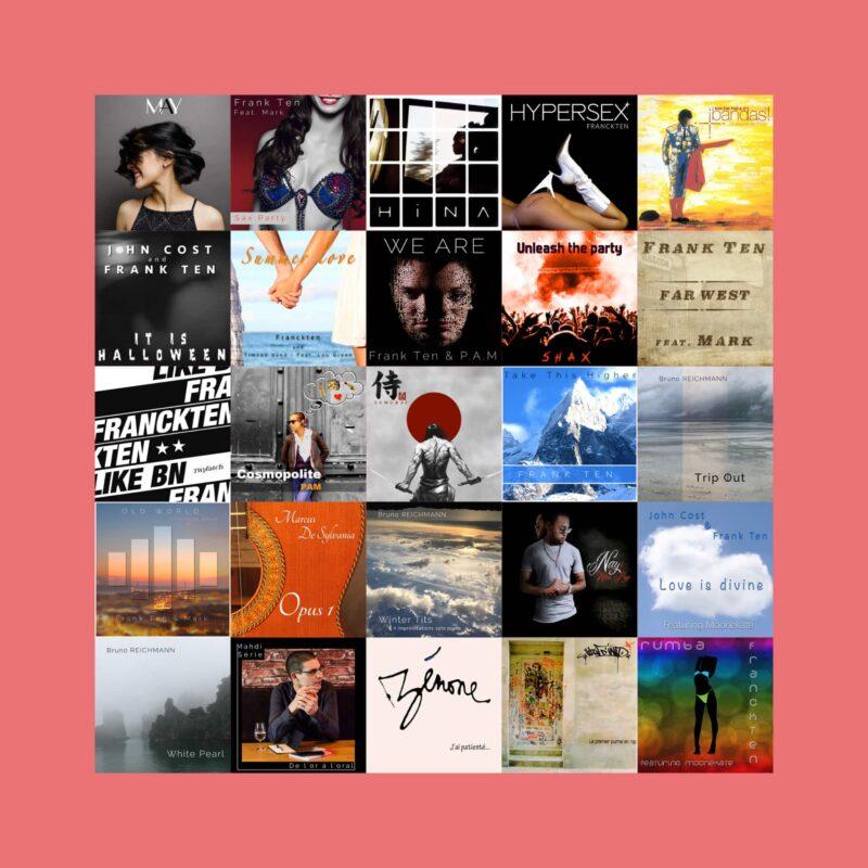 Pack LP 12 Titres