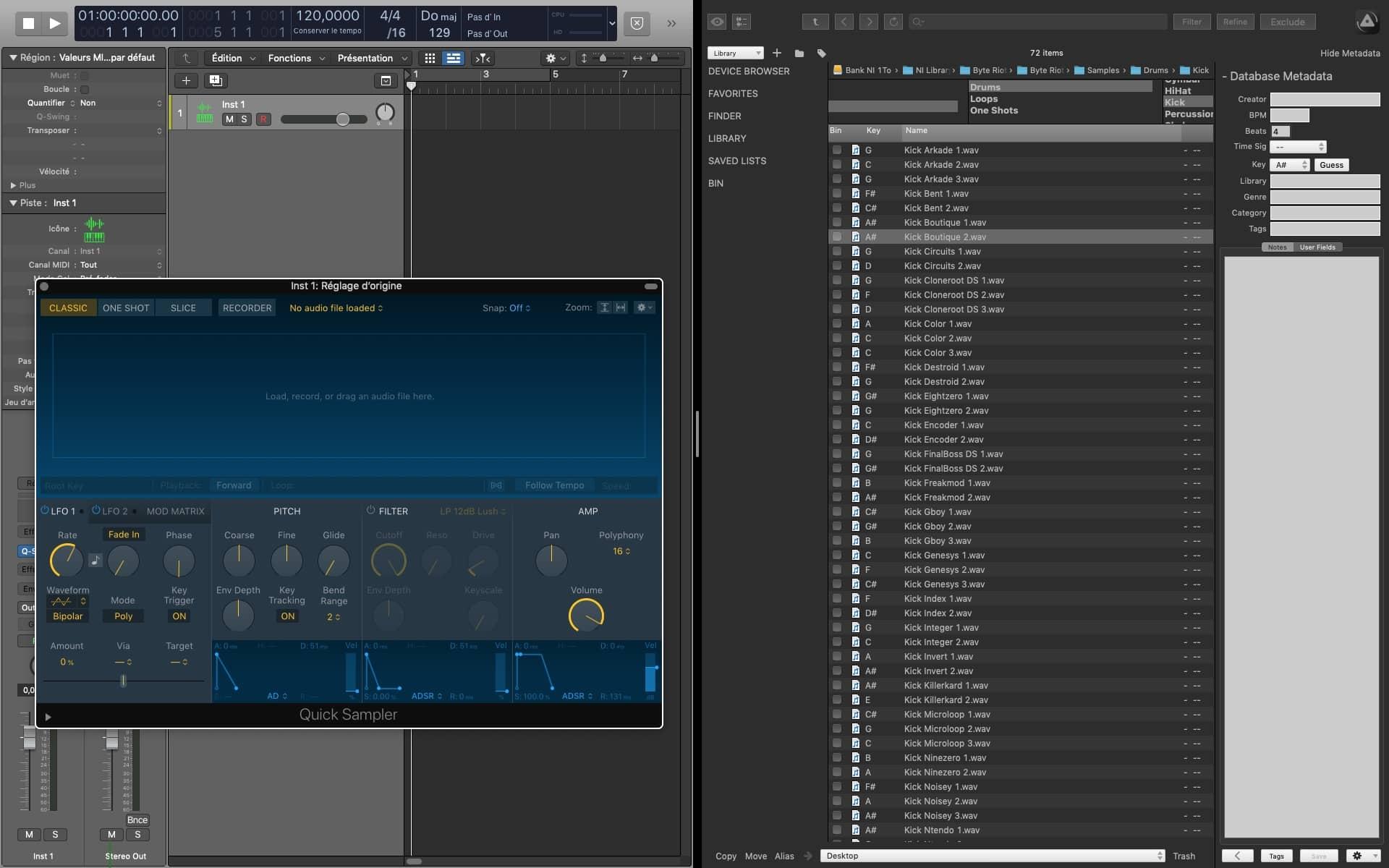Logic Pro x AudioFinder 1