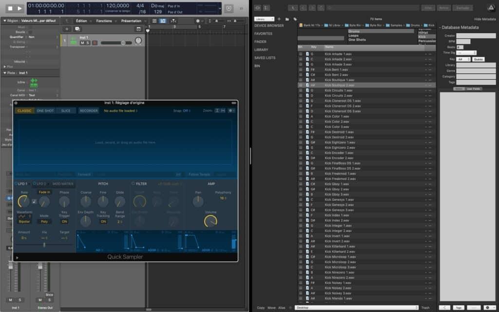 Logic Pro x AudioFinder