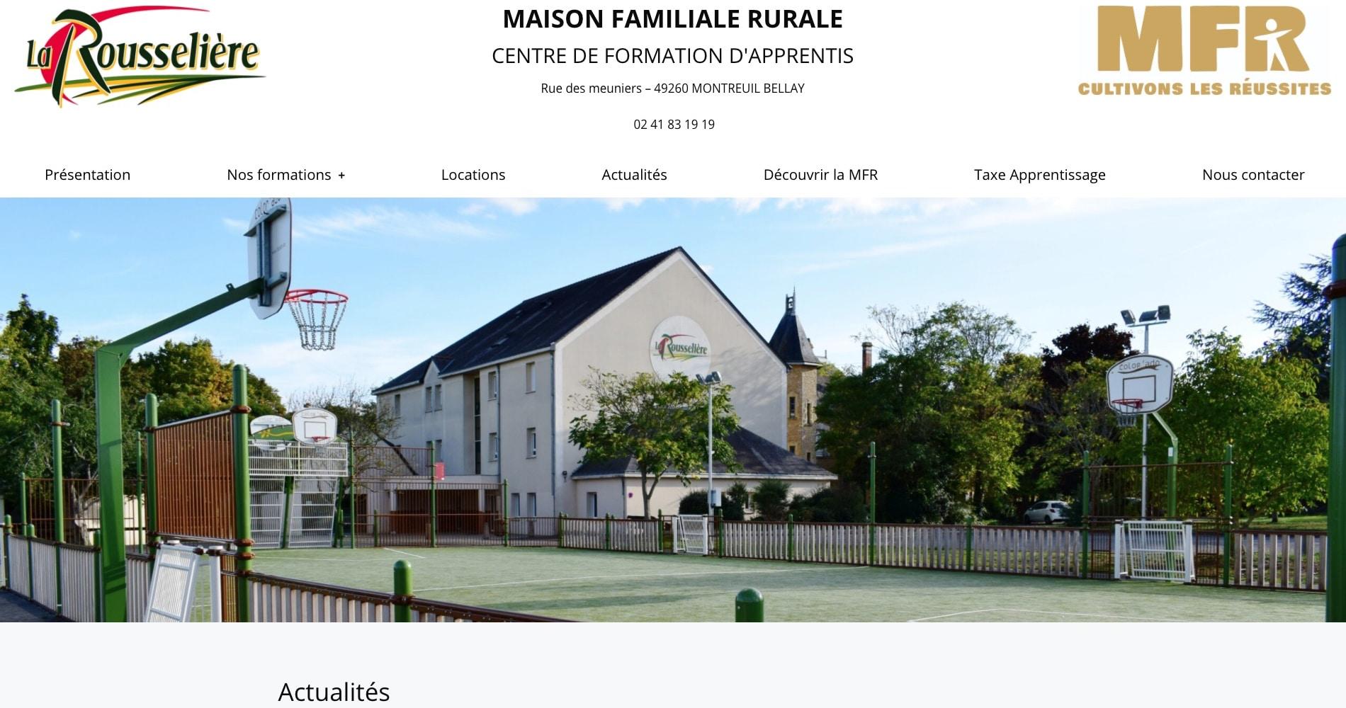 CFA-MFR La Rousselière