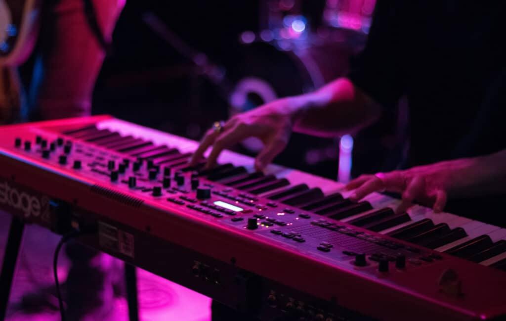 Site web musicien