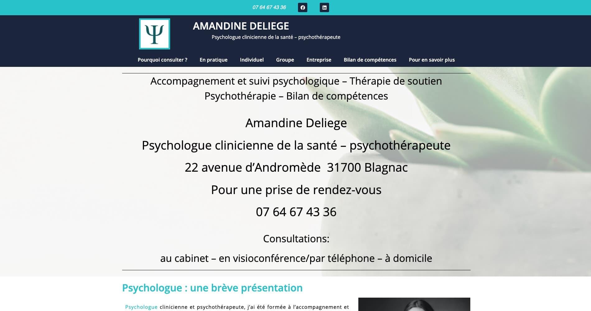 Amandine Deliege