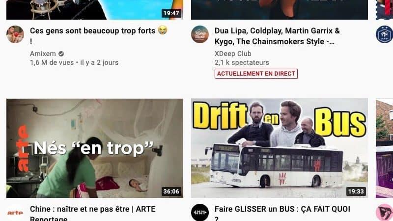 Vignette Youtube